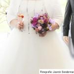 Brautstrauss in rosatönen